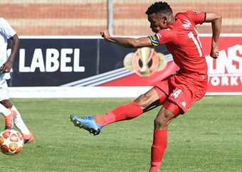 Mothobi Mvala hoping to rediscover goalscoring form for Highlands Park
