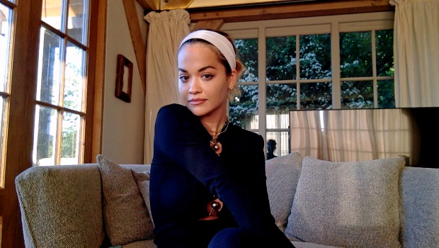 Rita Ora at home. Photo by Getty Images/Getty Images for SHEIN