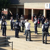 FEEL GOOD | Joburg DJ's mom gets guard of honour after retiring from 50 years of teaching