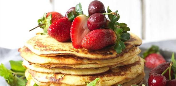 recipe, pancakes, lchf