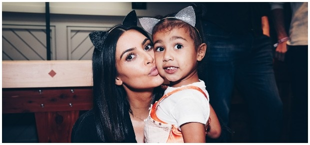 Kim Kardashian West and North West. (Photo: Getty Images/Gallo Images)