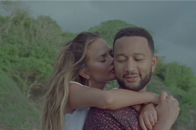 WATCH | Chrissy Teigen and John Legend reveal third pregnancy in steamy new music video - News24