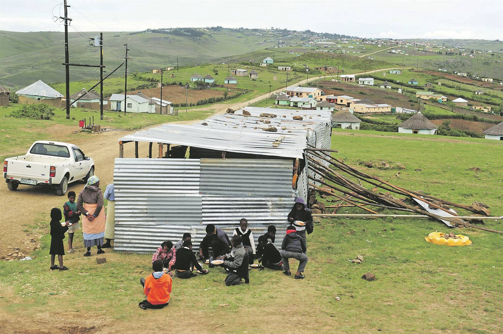 Government's plan to get rid of pit latrines and fix mud schools | City Press