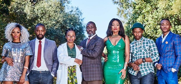The cast of 'Isipho'. (Photo supplied: e.tv)