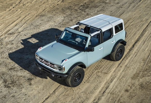 2021 Ford Bronco. Image: Supplied