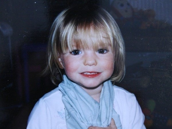 Madeleine McCann pictured in 2007.
