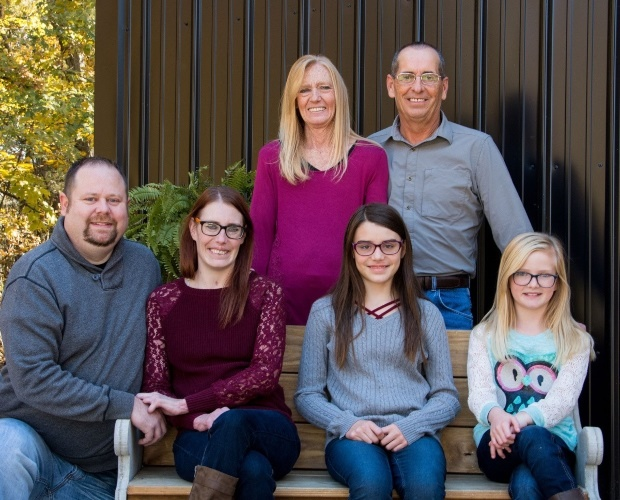 Racheal Acuff and her family. (PHOTO: MEDIA DRUM W