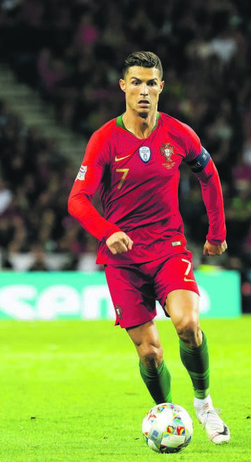 TALISMAN Cristiano Ronaldo has once more carried Portugal to another final where they meet the Netherlands in today's European Nations final. Picture: TF-Images / Getty Images