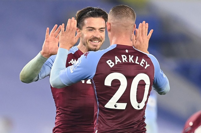 Jack Grealish and Ross Barkley (Getty Images)