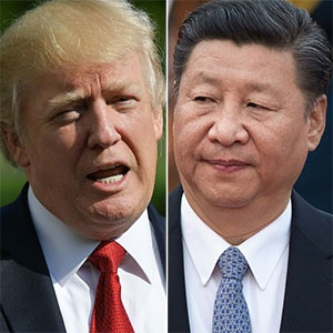 US President Donald Trump and Chinese President Xi