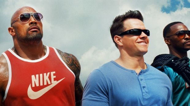 showmax the rock pain and gain