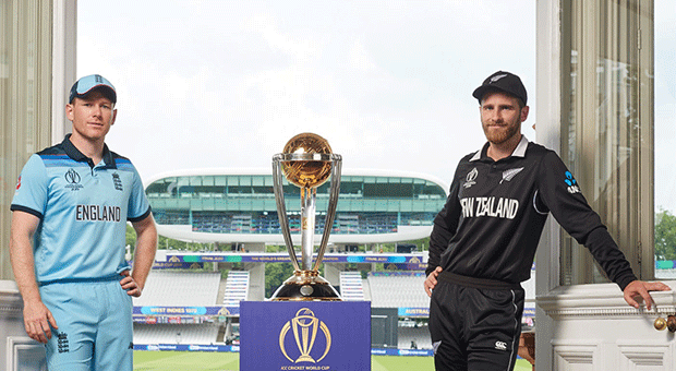Kane Williamson and Eoin Morgan (Getty Images)