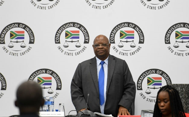 Deputy Chief Justice Raymond Zondo chairs the judicial commission of inquiry into state capture. (Felix Dlangamandla/Gallo Images)