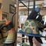 Keramiekkunstenaar se werk deel van uitstalling in Bfn