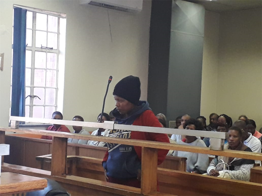 Kereleng Ramoisa appears in court for the abduction of a baby from Chris Hani Baragwanath Hospital. (Ntwaagae Seleka, News24)