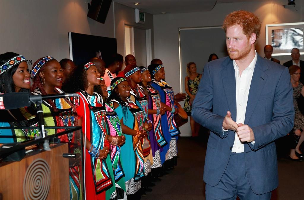 Prince Harry besoek SA