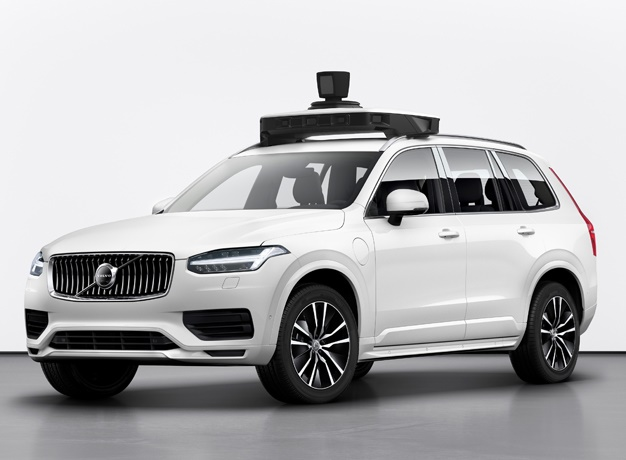 Volvo Cars and Uber present production vehicle rea