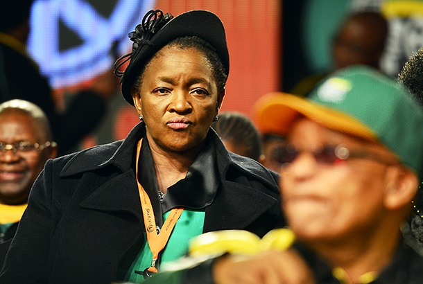 Former social development minister Bathabile Dlamini during the ANC's 5th national policy conference at the Nasrec Expo Centre on July 01, 2017. (Photo by Gallo Images / City Press / Muntu Vilakazi)
