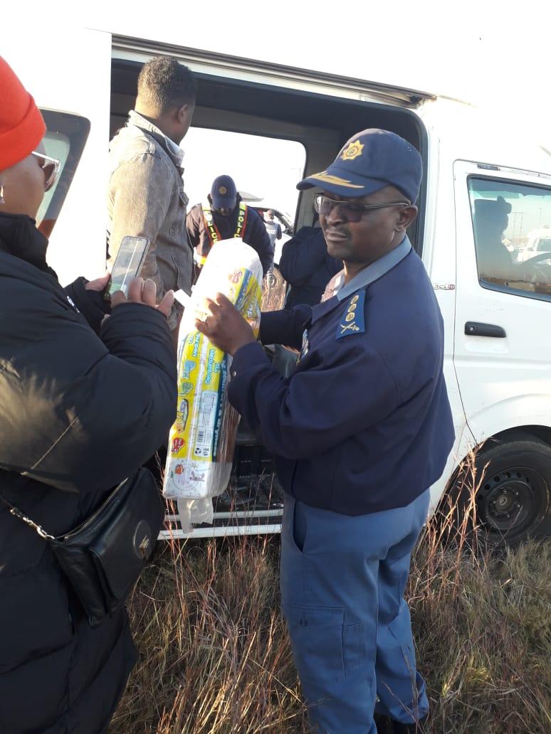 Gauteng police led by provincial boss, Elias Mawela, embarked on roadblocks in Sedibeng