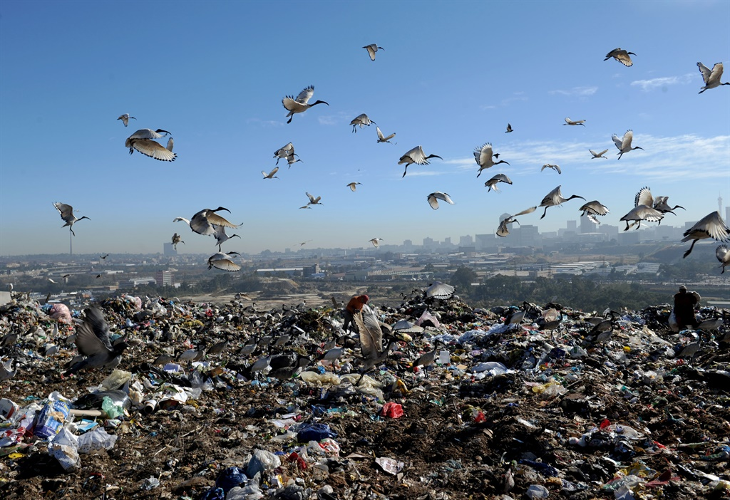 June 07.2019. The Pikitup landfill  in Turffontein