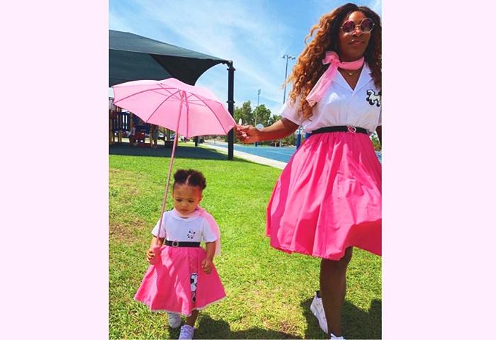 Pretty in pink. (Instagram/serenawilliams)