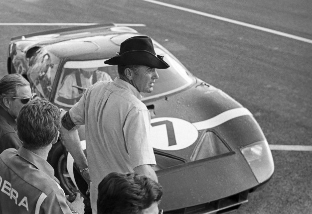 Carroll Shelby at 24 Hours of Le Mans 1965