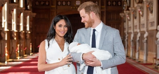 Duke and Duchess of Sussex with Baby Archie
