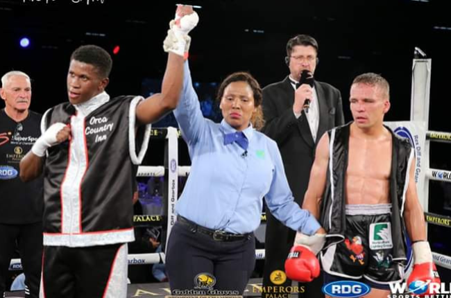 Boxing Referee and Judge Phumeza Zinakile is determined to see changes in her industry