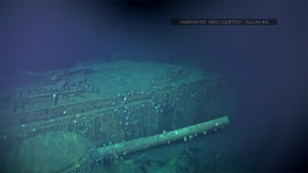 News24.com | Second warship found from WWII Battle of Midway