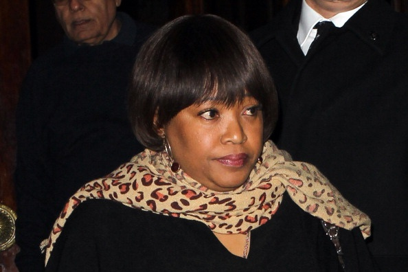 Zindzi Mandela in London in 2013