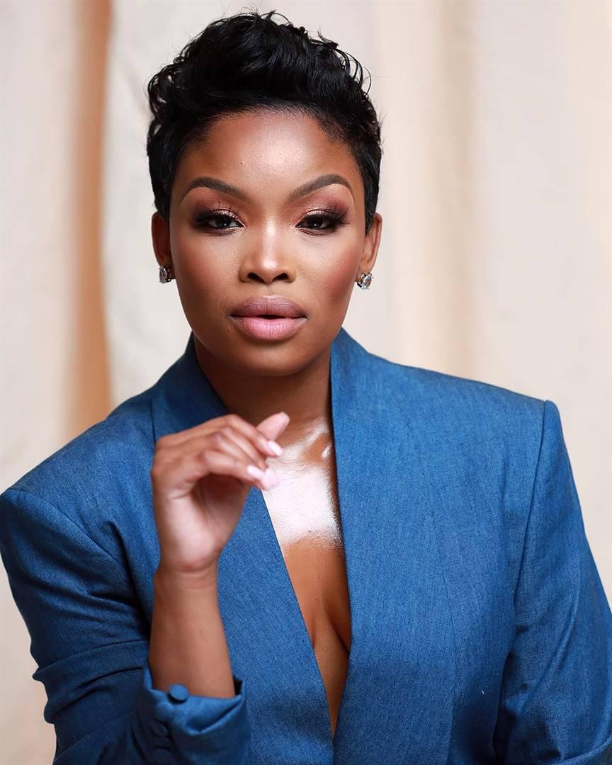 the accused Actress Zinhle Mabena PHOTO: Instagram.