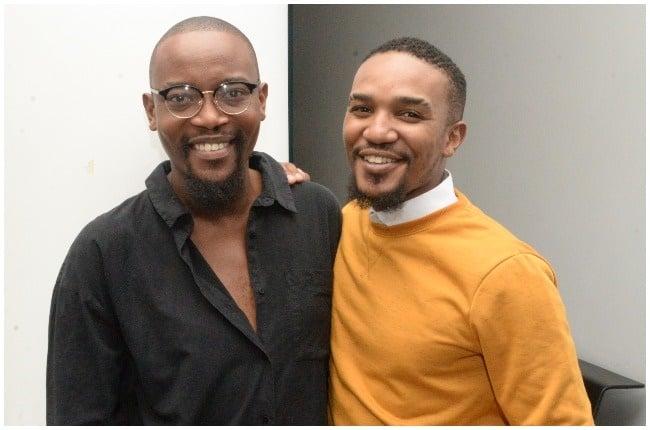 Moshe Ndiki and Phelo Bala in happier times.