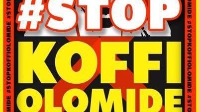 StopKoffiOlomide poster