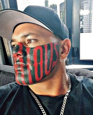 Man With Supersize Face Tattoo Starts Funding Page To Pay