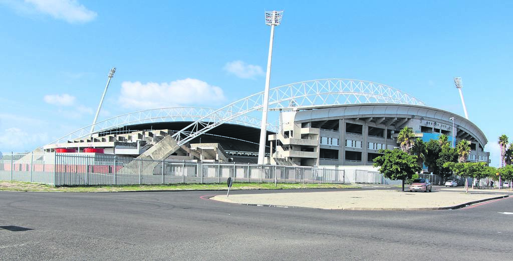 City of Cape Town has finally locked the premises occupied by local businesses and non-profit organisations at Athlone Stadium. PHOTO: Nomzamo Yuku