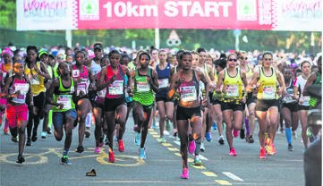 The start of the Spar Woman's 10km Challenge in Durban. photo: supplied