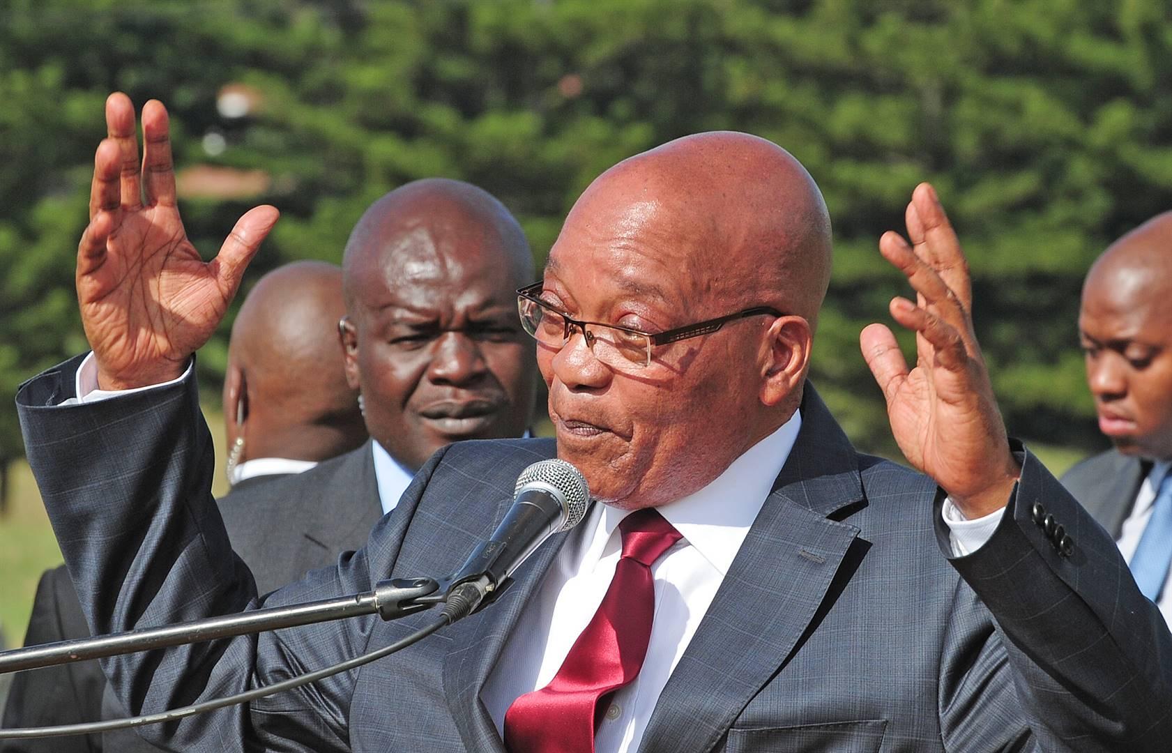 Former president Jacob Zuma. Picture: Ian Carbutt