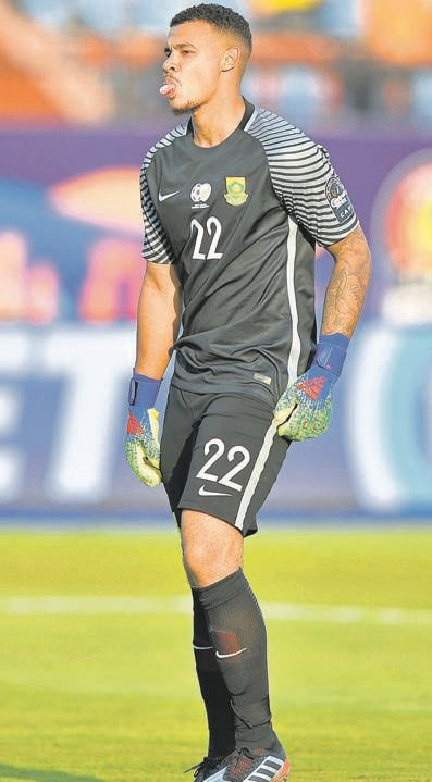 Bafana Bafana coach Stuart Baxter has defended his decision to play Ronwen Williams (pictured) ahead of Darren Keet in the clash against Ivory Coast.PHOTO: gallo