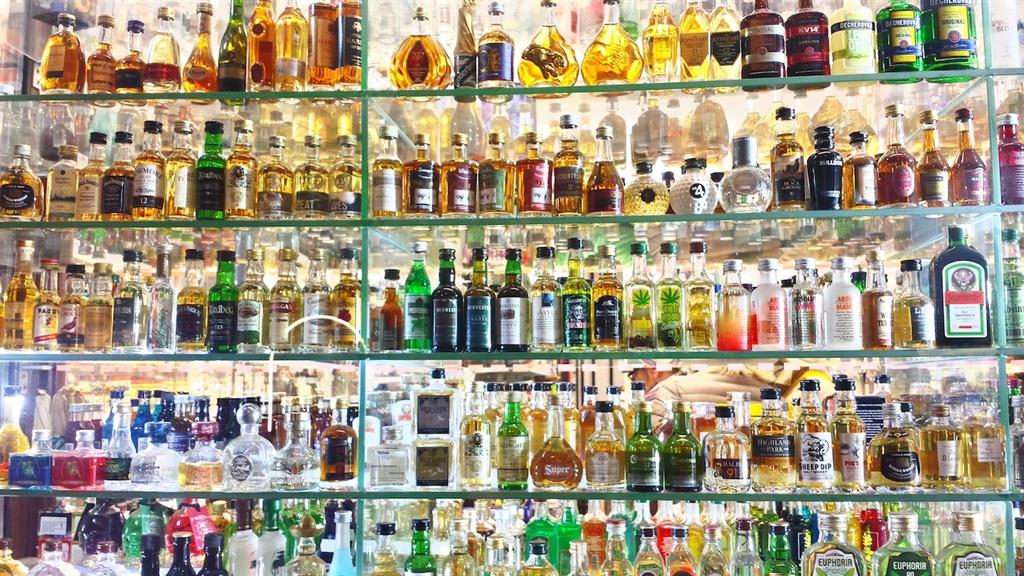 Much booze.