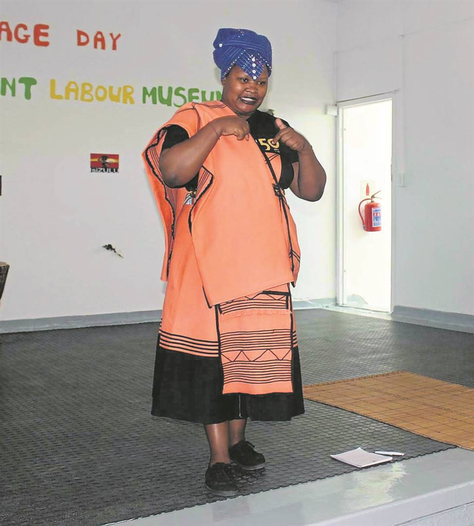 Masa Soko, manager at Lwandle Migrant Labour Museum, urges all those interested in beadwork training, to be held at the museum on 10 July, to register.