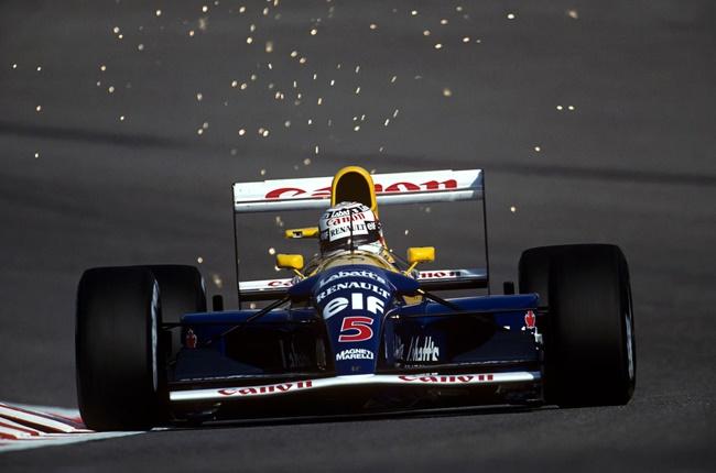 nigel mansell,williams,f1,formula 1