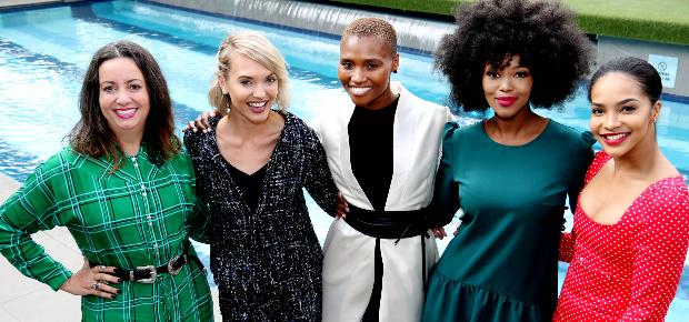 Danielle Weakley, Leandie du Randt, Andiswa Manxiwa, Bokang Montjane-Tshabalala and Liesl Laurie. (Photo: Supplied)