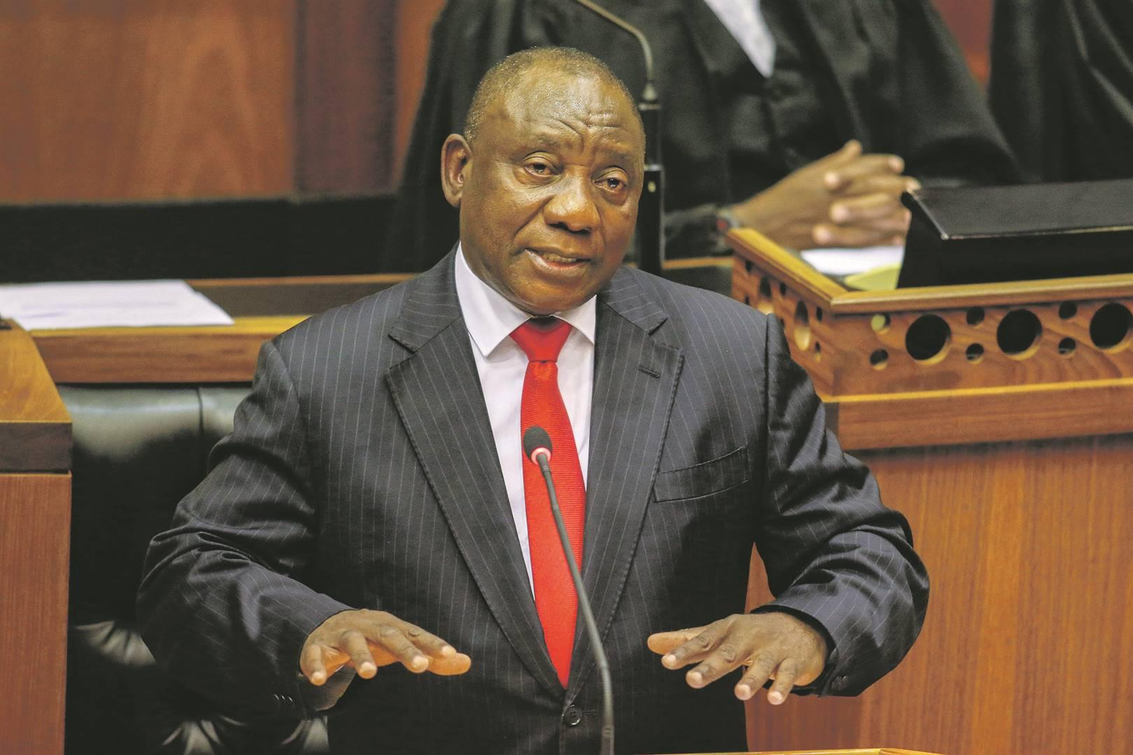Ramaphosa sê oor geslagsgebaseerde geweld - News24