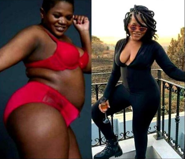 Busiswa's body transformation