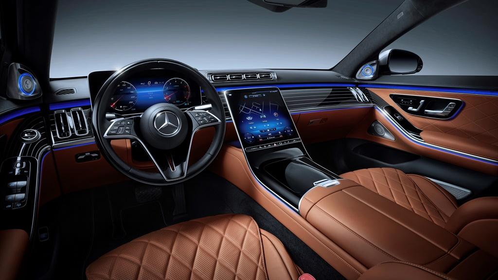 Mercedes-Benz S-Klasse, 2020, Studioaufnahme, Inte
