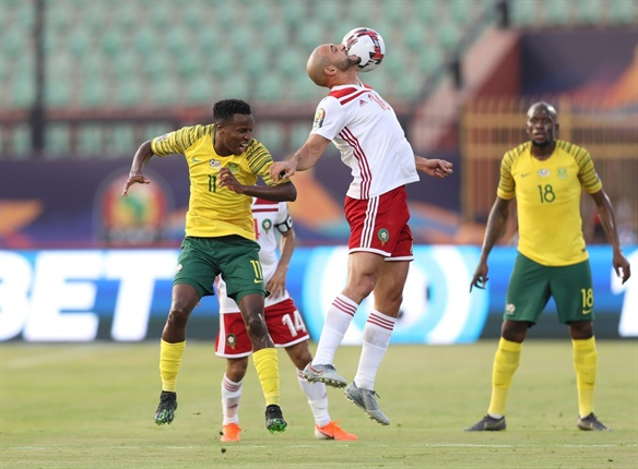 <strong>MATCH REPORT:&nbsp;</strong>Bafana beaten by Morocco, cling to slim last 16 hopes