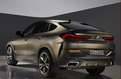 Leaked pictures of the new BMW X6.