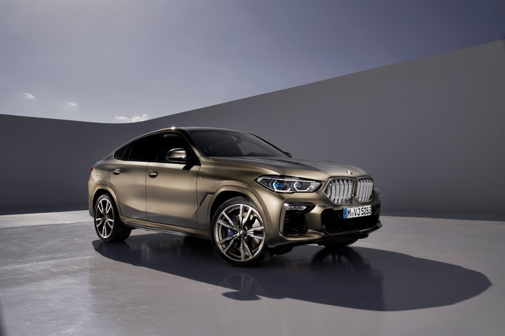 The new BMW X6.
