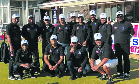 The team members who will be heading to Malaysia in August, at their golf day held to raise funds for their trip. PHOTO: supplied