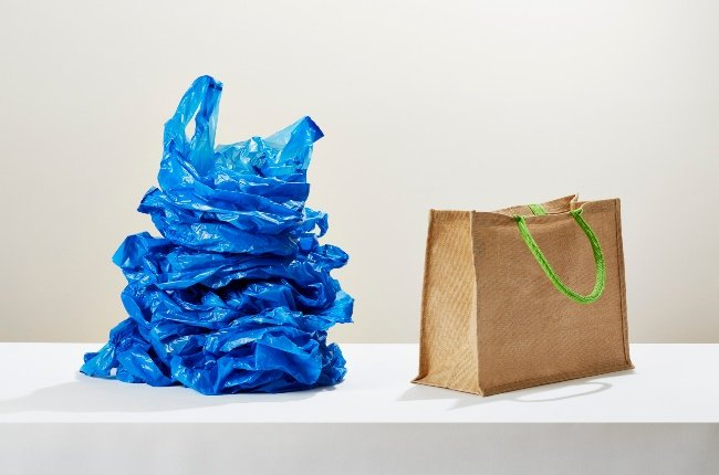 Plastic bags and reusable bags. (PHOTO: GALLO IMAGES/GETTY IMAGES)